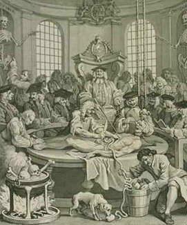 Los resurreccionistas y los medicos. Dissection
